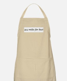 39.3 miles for bust BBQ Apron