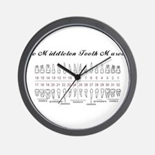 The Middleton Tooth Museum Wall Clock