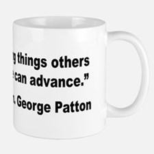 Patton Doing Things Quote Mug
