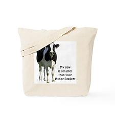 Smart Cow Tote Bag
