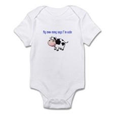 Moo-mmy Infant Bodysuit