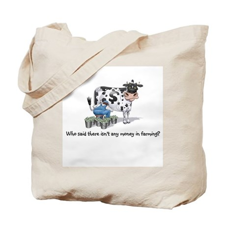 Money Cow Tote Bag