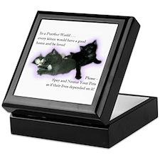 Spay Neuter Kittens Keepsake Box