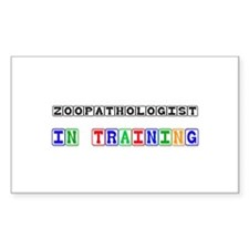 Zoopathologist In Training Rectangle Decal