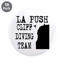 "La Push Cliff Diving Team 3.5"" Button (10 pack)"