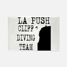 La Push Cliff Diving Team Rectangle Magnet