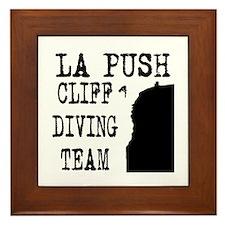 La Push Cliff Diving Team Framed Tile