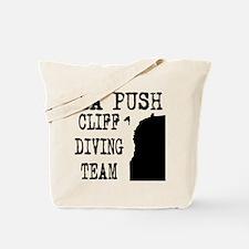 La Push Cliff Diving Team Tote Bag