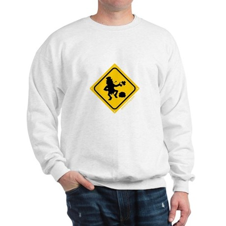 Leprechaun Crossing Sweatshirt