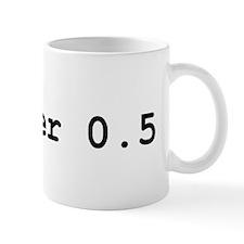 Blogger 0.5 Mug