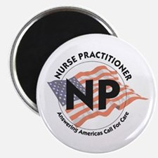 Patriotic Nurse Practitioner Magnet