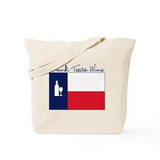 Drink Texas Wine Tote Bag