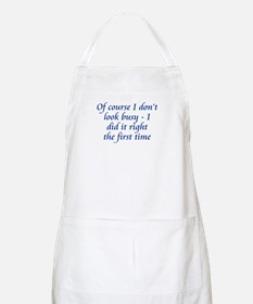 Did It Right BBQ Apron