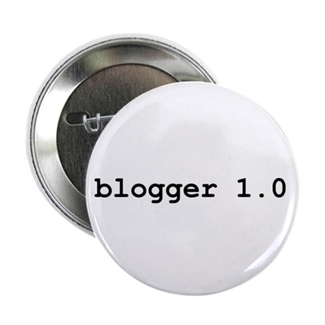 "blogger 1.0 2.25"" Button (100 pack)"