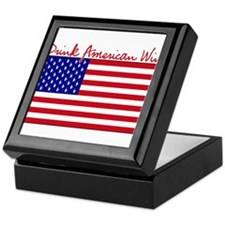 Drink American Wine Keepsake Box
