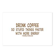Drink Coffee Postcards (Package of 8)