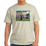 Saint Francis & Airedale Light T-Shirt