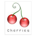 cherries Small Poster