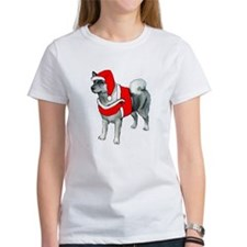 Norwegian Elkhound Santa Tee