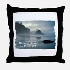 La Push, WA. 2 Throw Pillow