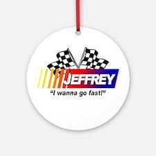 Racing - Jeffrey Ornament (Round)