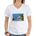 La Push, WA. 3 Women's V-Neck T-Shirt