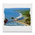 La Push, WA. 3 Tile Coaster