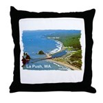 La Push, WA. 3 Throw Pillow