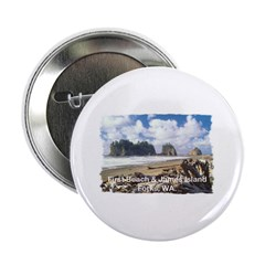 """Forks, WA. 1 2.25"""" Button (100 pack)"""