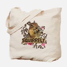 Squirrely Squirrel Lover Tote Bag