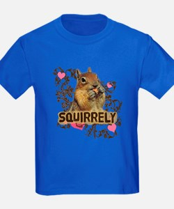 Squirrely Squirrel Lover T