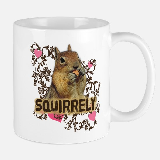 Squirrely Squirrel Lover Mug