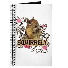 Squirrely Squirrel Lover Journal