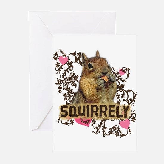 Squirrely Squirrel Lover Greeting Cards (Pk of 20)
