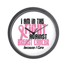 In The Fight 1 BC (Because I Care) Wall Clock