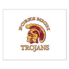 Forks High Trojans Posters
