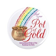 """IORG-Pot Of Gold 3.5"""" Button"""