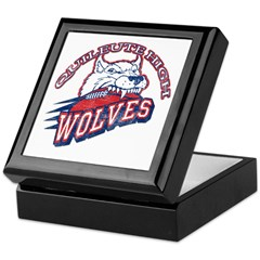 Quileute High Wolves Keepsake Box