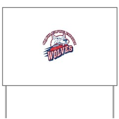 Quileute High Wolves Yard Sign