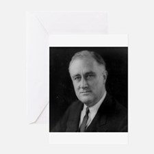 Franklin Roosevelt Greeting Card
