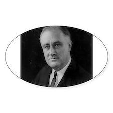 Franklin Roosevelt Oval Bumper Stickers