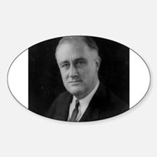 Franklin Roosevelt Oval Bumper Stickers