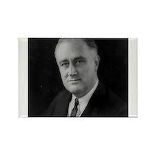 Franklin Roosevelt Rectangle Magnet