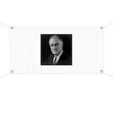 Franklin Roosevelt Banner