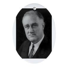 Franklin Roosevelt Oval Ornament