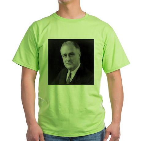 Franklin Roosevelt Green T-Shirt