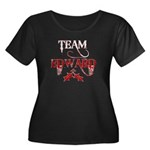 Team Edward Women's Plus Size Scoop Neck Dark T-Sh