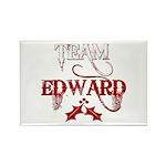 Team Edward Rectangle Magnet (10 pack)