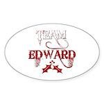 Team Edward Oval Sticker (50 pk)