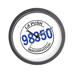 La Push 98350 Wall Clock